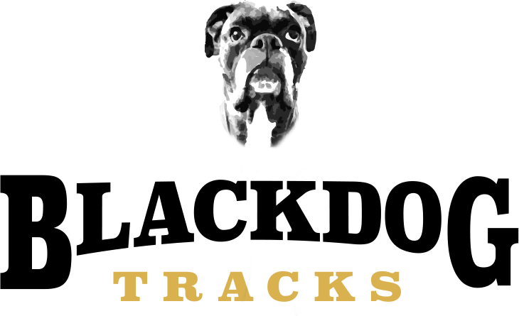 Black Dog Tracks Logo