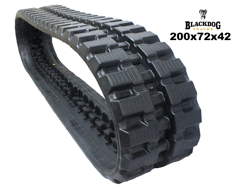 Hinowa DM_10A Rubber Track