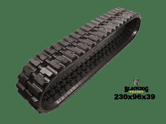 Orteco 800hd Rubber Track