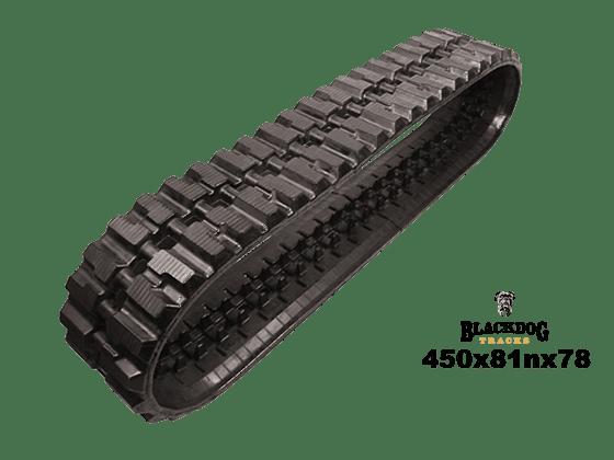 Hitachi 70 Rubber Track