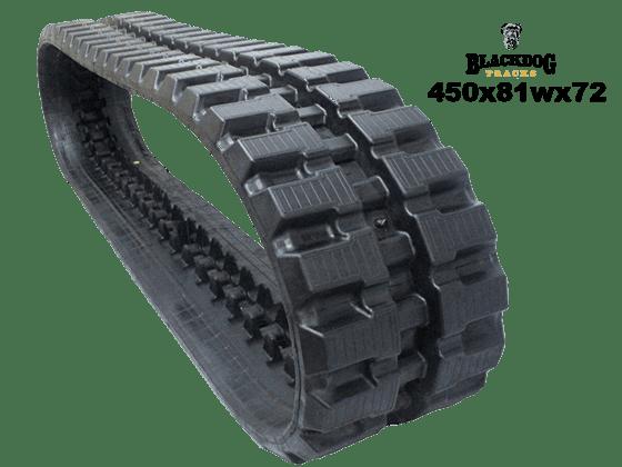 Caterpillar 307_B Rubber Track
