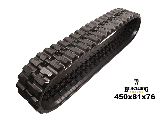 Kobelco SK80MSR Rubber Track